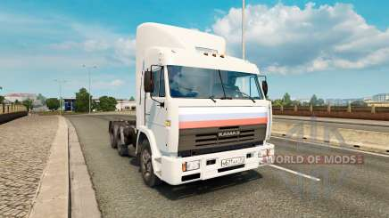 КамАЗ 54115 v2.0 для Euro Truck Simulator 2