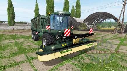 Krone BiG L 500 Camo для Farming Simulator 2017