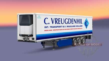 Dutch trailers pack для Euro Truck Simulator 2