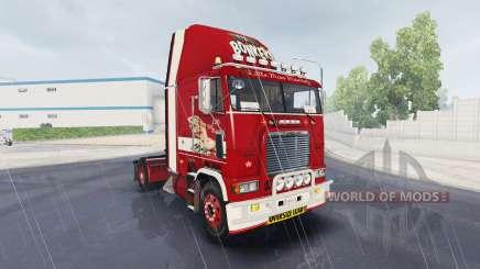 Скин Little Miss на тягач Freightliner FLB для American Truck Simulator