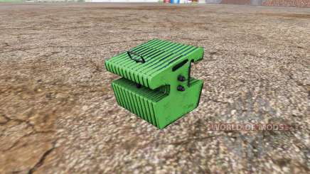 Weight John Deere для Farming Simulator 2015