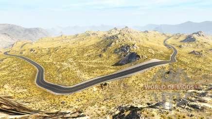 Baja hills для BeamNG Drive