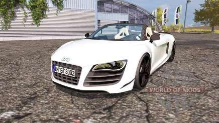 Audi R8 Spyder для Farming Simulator 2013