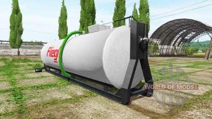 Fliegl hooklift для Farming Simulator 2017
