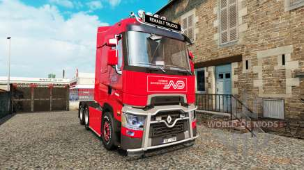 Renault T v4.3 для Euro Truck Simulator 2