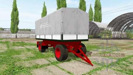 Tilt trailer для Farming Simulator 2017