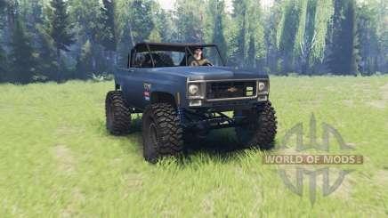 Chevrolet K5 Blazer crawler v2.0 для Spin Tires