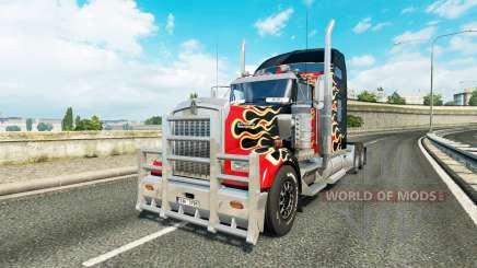 Kenworth W900 v1.1 для Euro Truck Simulator 2