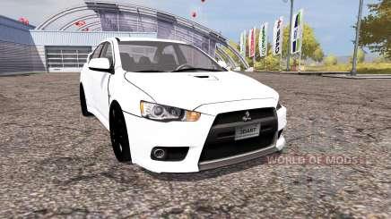 Mitsubishi Lancer Evolution X v2.0 для Farming Simulator 2013