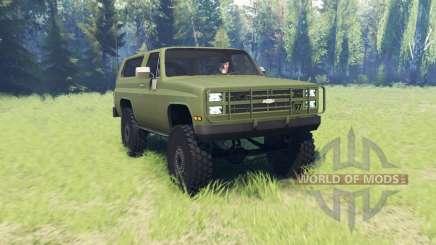 Chevrolet K5 Blazer M1009 для Spin Tires