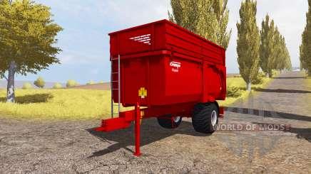 Krampe Big Body 600 E для Farming Simulator 2013