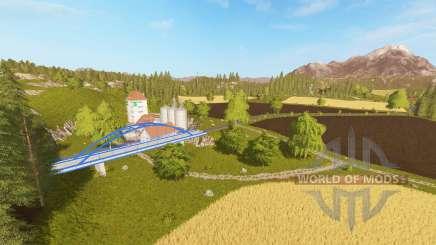 Нойштадт для Farming Simulator 2017