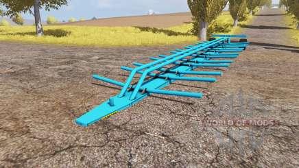 Bremer bale trailer для Farming Simulator 2013