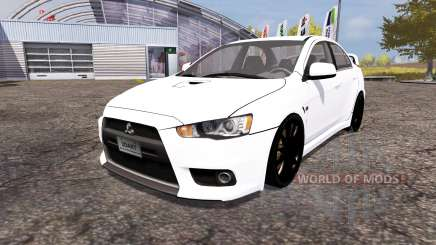 Mitsubishi Lancer Evolution X для Farming Simulator 2013