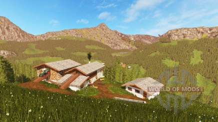 Tyrolean High Mountains для Farming Simulator 2017