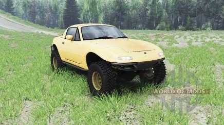 Mazda Miata 4x4 1997 для Spin Tires