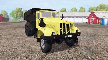КрАЗ 256Б1 для Farming Simulator 2015