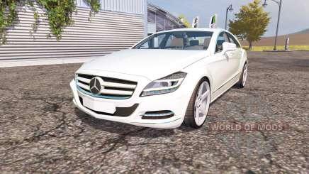 Mercedes-Benz CLS-Klasse (C218) v2.0 для Farming Simulator 2013