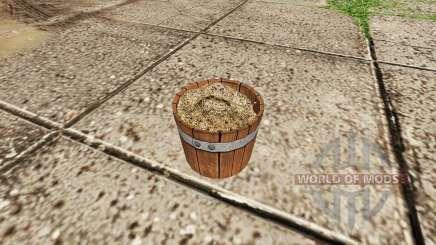 Fertilizer bucket v1.1 для Farming Simulator 2017