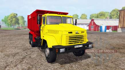 КрАЗ 65055 для Farming Simulator 2015