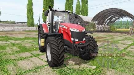 Massey Ferguson 8732 v2.0 для Farming Simulator 2017