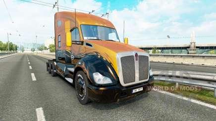 Kenworth T680 v1.1 для Euro Truck Simulator 2