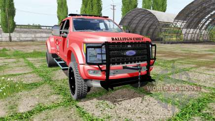 Ford F-450 fire service для Farming Simulator 2017