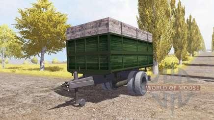 Tipper trailer v2.0 для Farming Simulator 2013