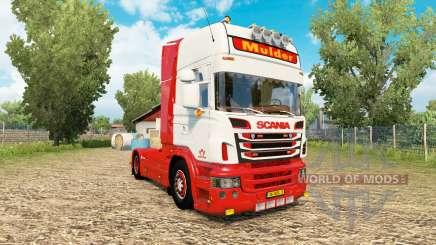 Scania R-series V8 Mulder для Euro Truck Simulator 2