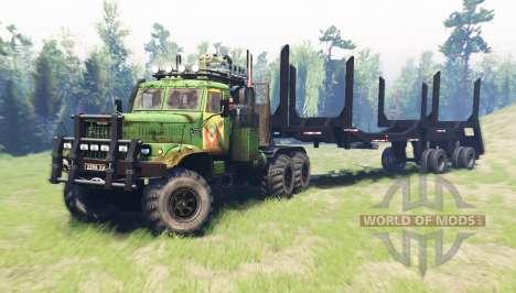 КрАЗ 255Б v2.0 для Spin Tires