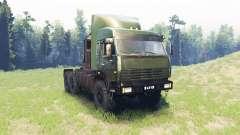 КамАЗ 44108 Батыр v2.0 для Spin Tires