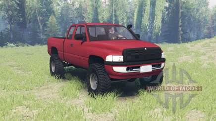 Dodge Ram 2500 Club Cab 2000 для Spin Tires