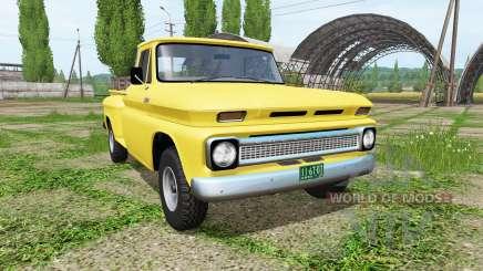 Chevrolet C10 Fleetside 1966 4x4 v1.1 для Farming Simulator 2017