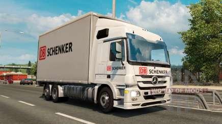 Tandem truck traffic v1.1 для Euro Truck Simulator 2
