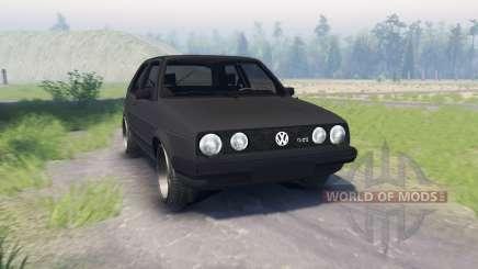 Volkswagen Golf II GTI для Spin Tires
