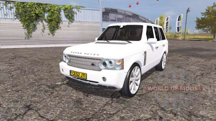 Land Rover Range Rover Supercharged (L322) 2009 для Farming Simulator 2013