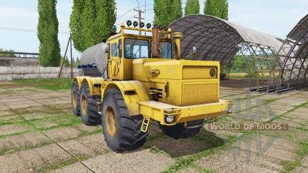 Кировец К 701 6x6 цистерна для Farming Simulator 2017