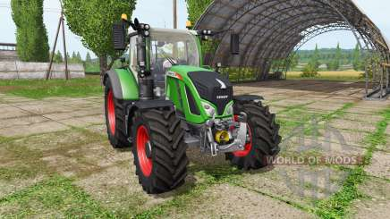 Fendt 712 Vario v0.98 для Farming Simulator 2017