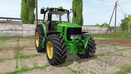 John Deere 7530 для Farming Simulator 2017