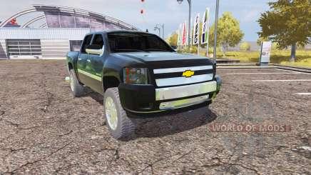Chevrolet Silverado 2500 HD v2.0 для Farming Simulator 2013