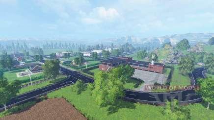 Little country для Farming Simulator 2015