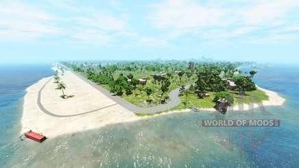 Cadort island v1.2.1 для BeamNG Drive