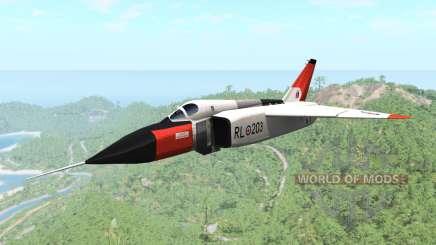 Avro CF-105 Arrow для BeamNG Drive