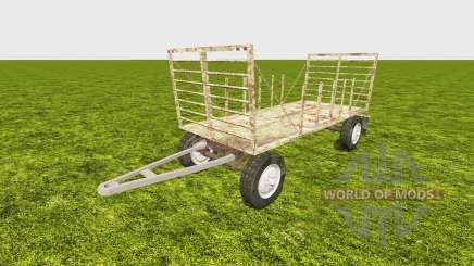 Bale trailer v2.0 для Farming Simulator 2013