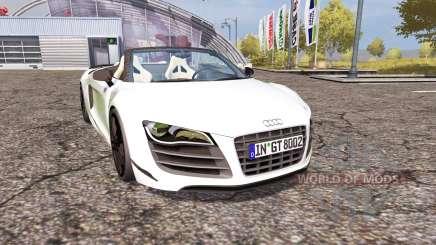 Audi R8 Spyder v1.1 для Farming Simulator 2013
