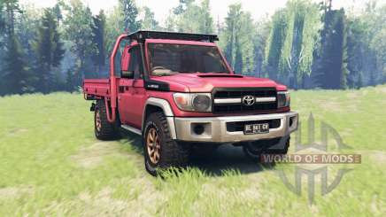 Toyota Land Cruiser 70 (J79) v1.1 для Spin Tires