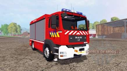MAN TGA 28.430 Fire Rescue для Farming Simulator 2015