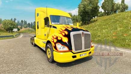 Kenworth T680 v1.4 для Euro Truck Simulator 2