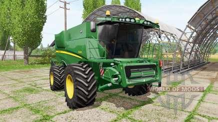 John Deere S690i для Farming Simulator 2017