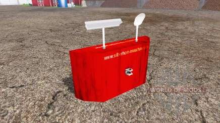 Rear weight v1.1 для Farming Simulator 2015
